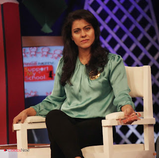 Kajol Latest Stills in Jeans at NDTV Support My School Campaign ~ Celebs Next