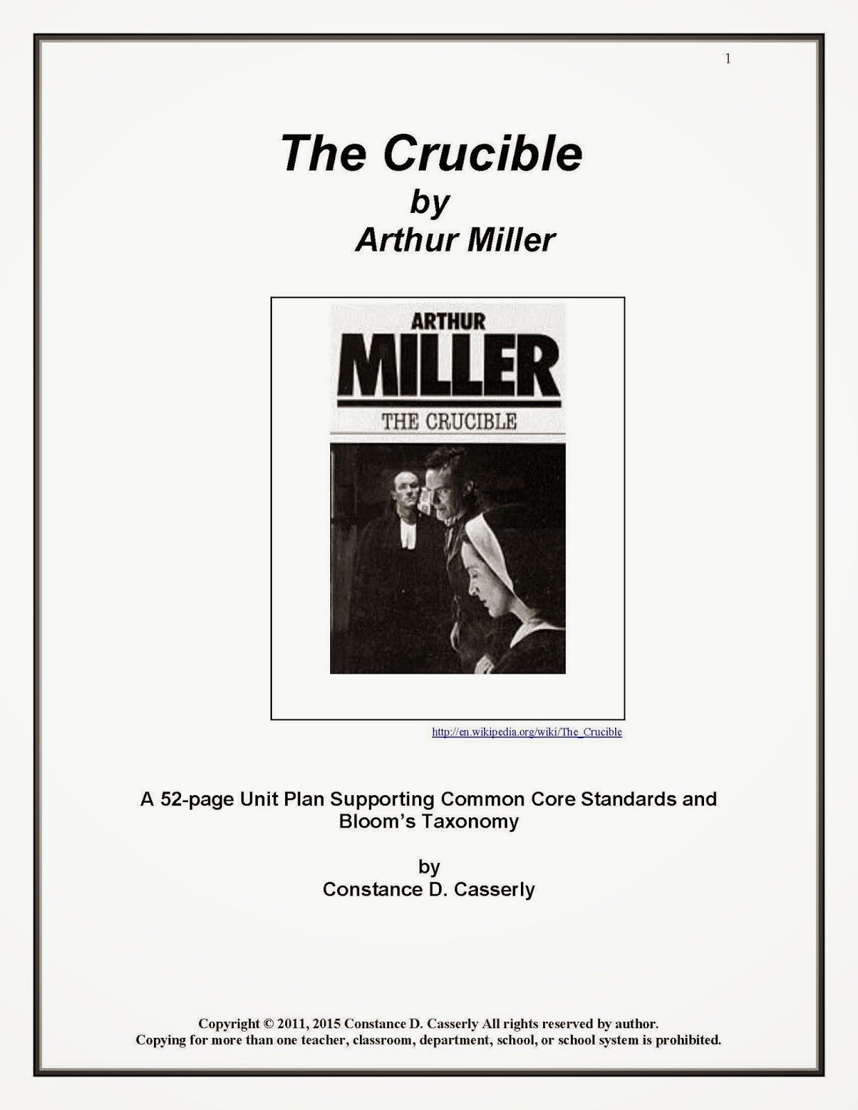 https://www.teacherspayteachers.com/Product/Literature-The-Crucible-Unit-Plan-1617