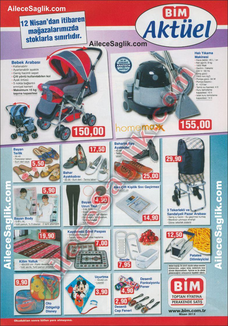Bim 12 Nisan 2013 Aktüel Ürünler Broşürü 1