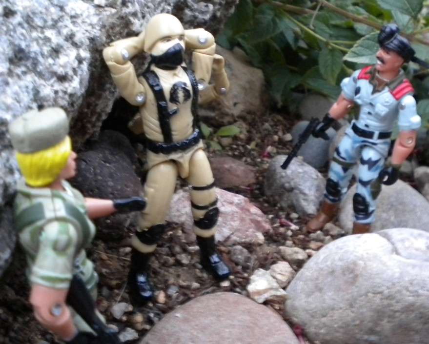 2005 Daina, Oktober Guard, Comic Pack, Unproduced, Anti Venom Mutt, Bootleg Cobra Trooper, Desert, Custom, Black Major