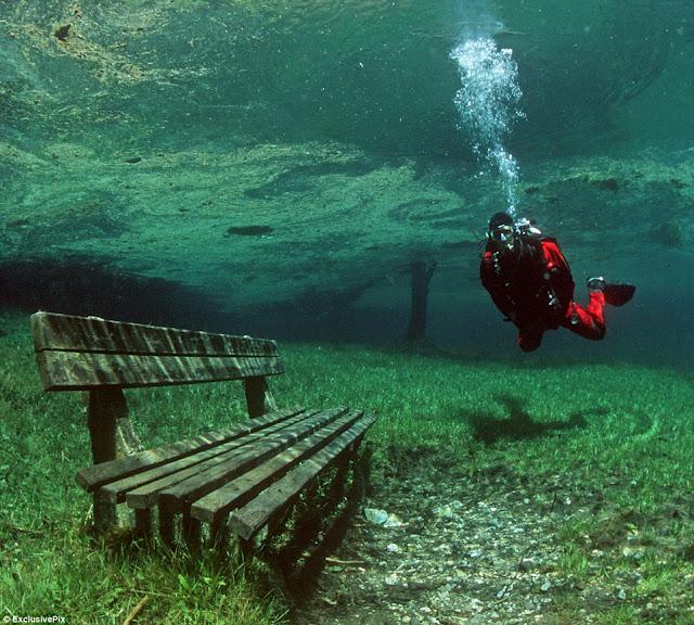 Austrian underwater park
