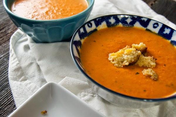 creamy tomato soup, dairy, paleo tomato soup, quick tomato soup, soup, tomato basil soup, vegetables,