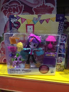 MLP Equestria Girls Minis found at Smyths