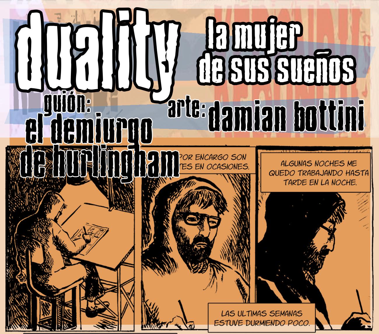 """Duality """"La mujer de sus sueños"""".(terminada)"""