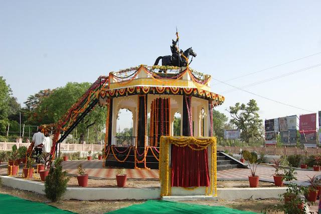 Maharana Pratap Statue 3d Model 3d Naksha