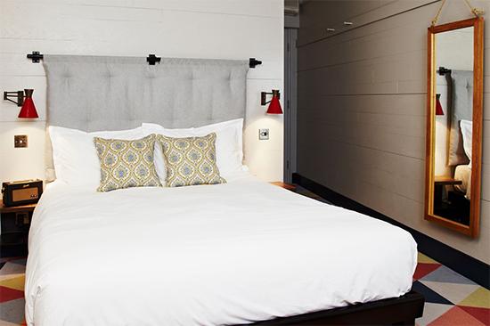 hoxton, cabeceira, quarto, decoracao moderna, quarto de casal, bedroom