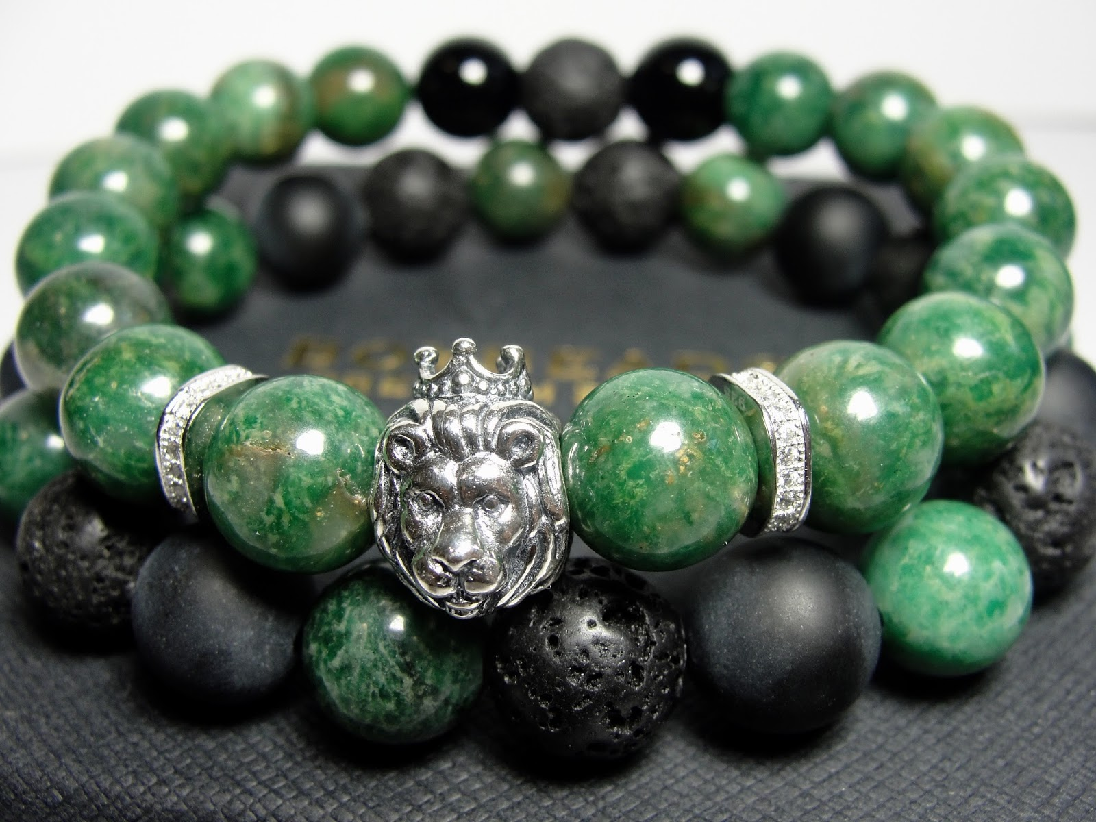 faceted pin bracelets jade bracelet chain charm jewelry skull
