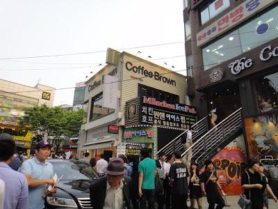 Finding inspiration in Hongdae Seoul