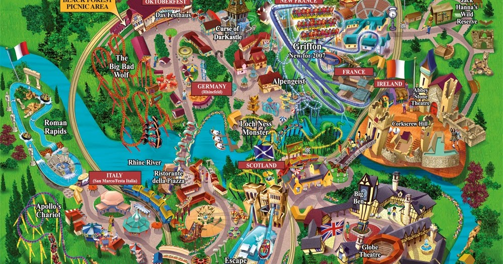 Places To Visit In Us Busch Gardens Tampa A Park In The City Of Tampa