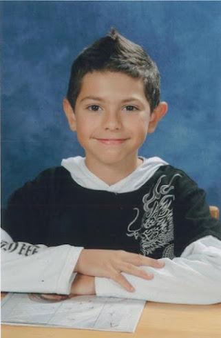 Matéo à 8 ans