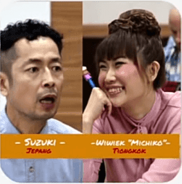 Kotaro Suzuki Kelas Internasional