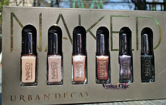 Swatch Naked by Urban Decay