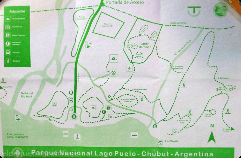El Bolsón Lago Puelo, Parque nacional Lago Puelo