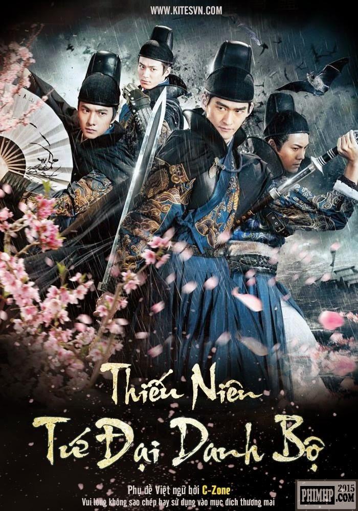 Poster phim Tân Thiếu Niên Tứ Đại Danh Bộ, Poster movie The Four 2015