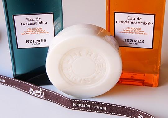 Un baño de lujo con Hermès