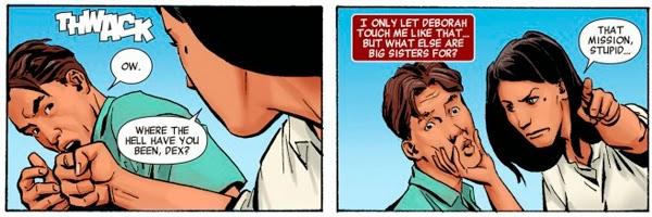 """Dexter y Deb en el cómic """"Dexter"""" publicado por Marvel / Planeta DeAgostini Cómics"""