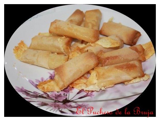 El puchero de la bruja pasta filo rellena de queso - Que hacer con la pasta filo ...