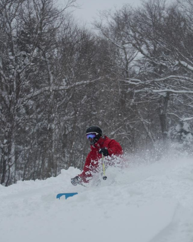 Powder day at Killington, April 10, 2012.  Photo courtesy of Killington Resort.