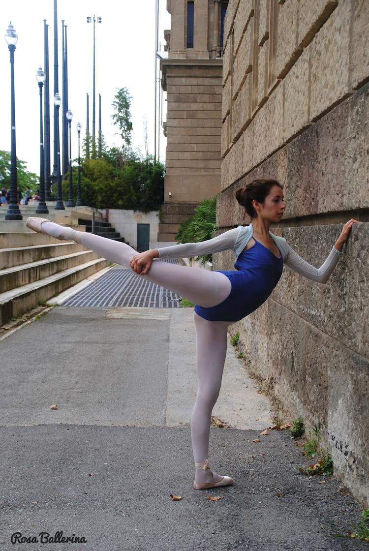 fotografia de ballet en exteriores Barcelona