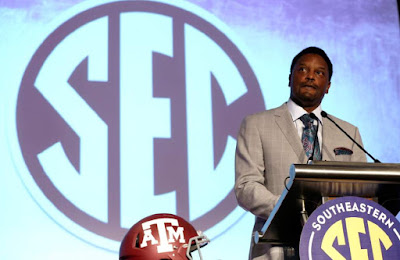 Kevin Sumlin admits hiring John Chavis away from LSU because Texas A M couldn't beat the LSU defense.