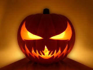 Slike za mobitele: Noć vještica, zastrašujuća bundeva - Halloween