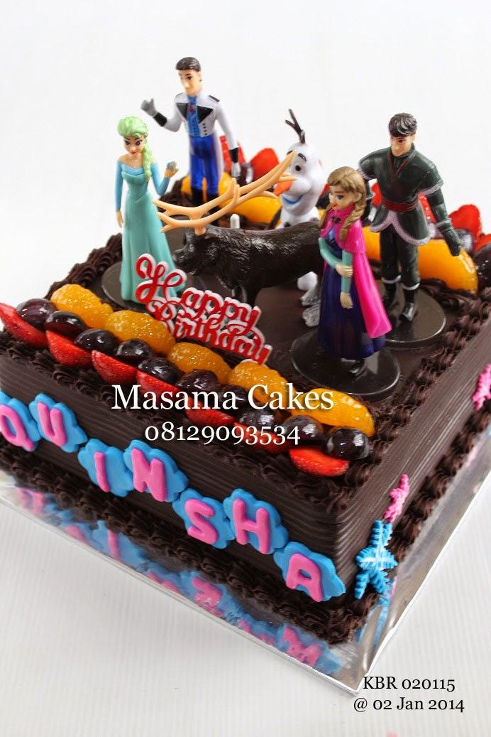 Masama Cakes Frozen Birthday Cake For Quinsha