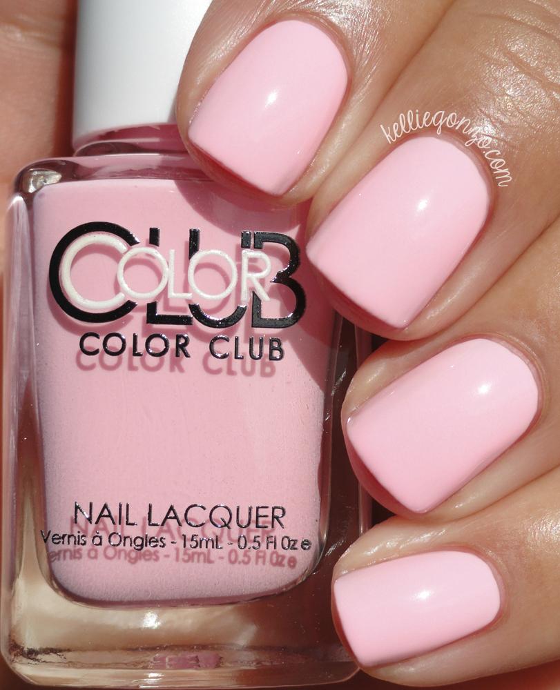 KellieGonzo: Color Club Poptastic 2015 Pastel Neons