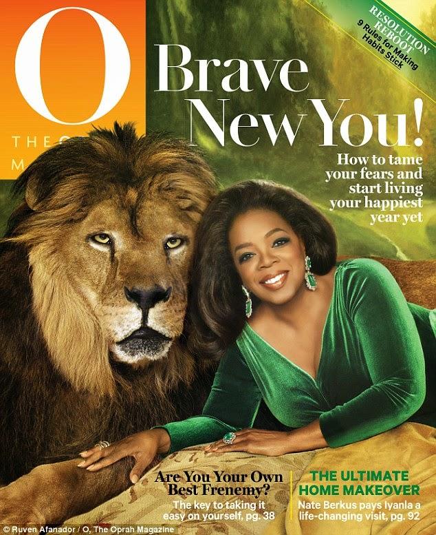 sampul majalah oprah magazine