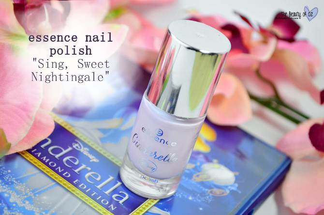 Review essence Cinderella Nail Polish SING, SWEET NIGHTINGALE