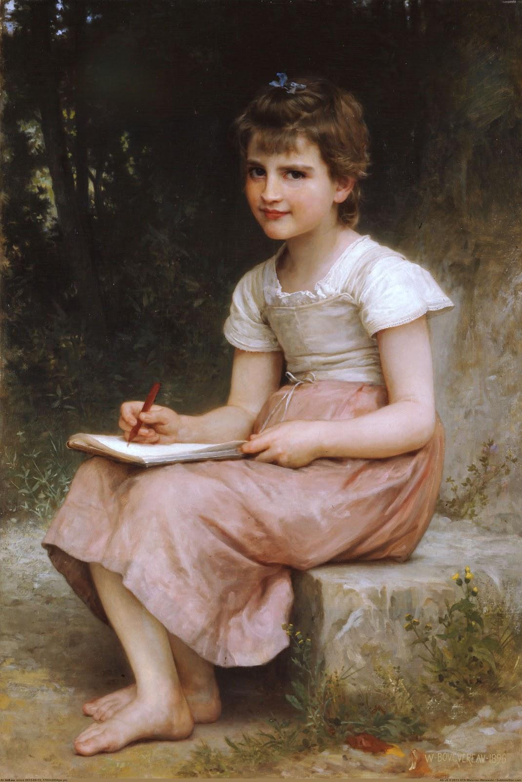 Une vocation. 1896. Óleo sobre tela - 105.5 x 70 cm
