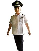 kostum profesi Pilot garuda untuk anak