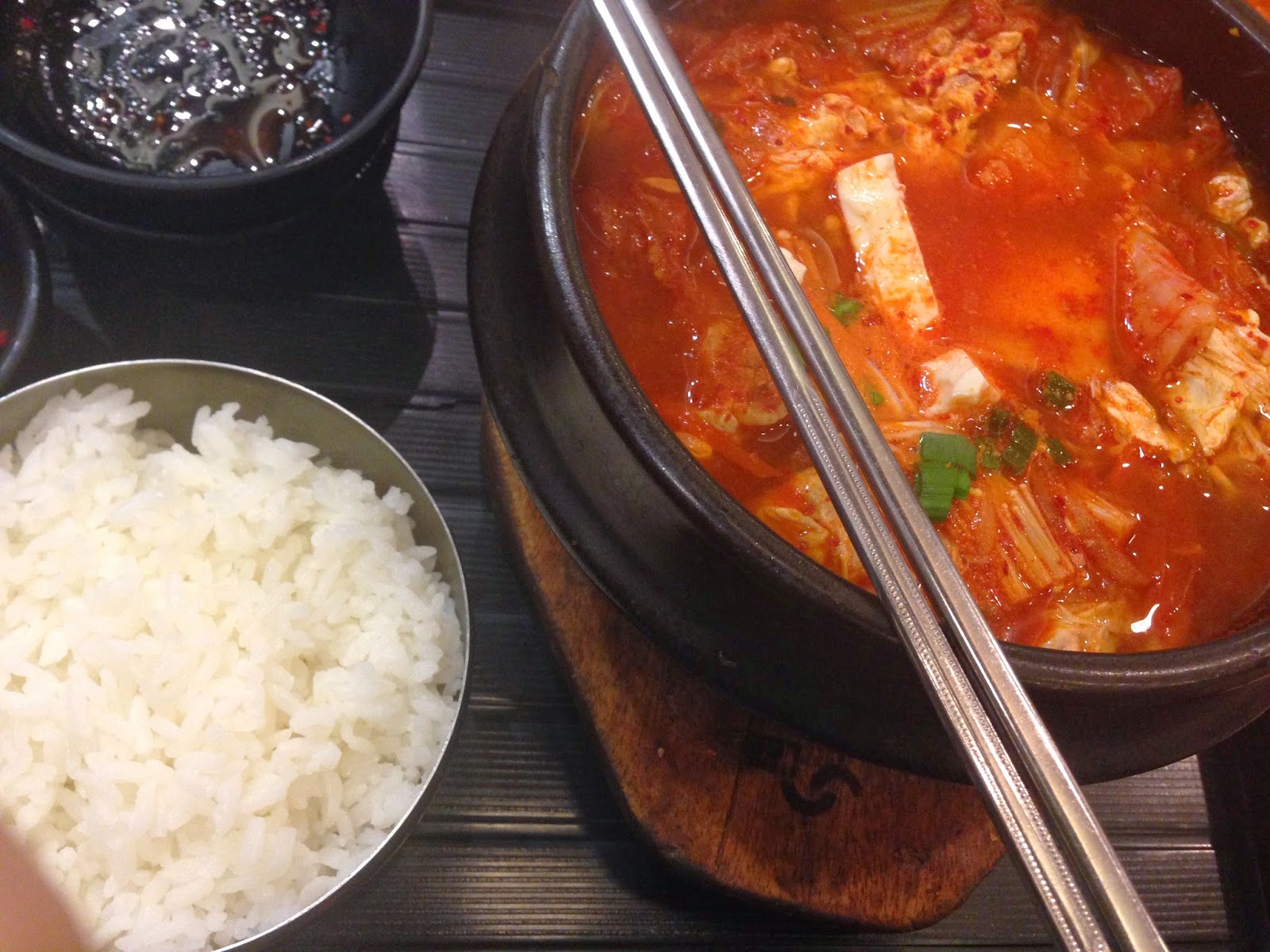 Kimchi with Rice from Seoul Yummy