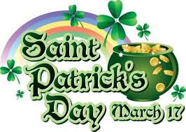 St Patrick's Day - 17th March