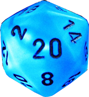 1LR Uses a D20 Rating System
