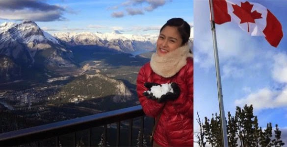 VIRAL: Kim Chiu's dramatic first snow experience