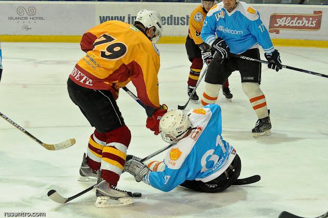 UHL hokejs hockey HK Tērvete - Lattelecom A līga