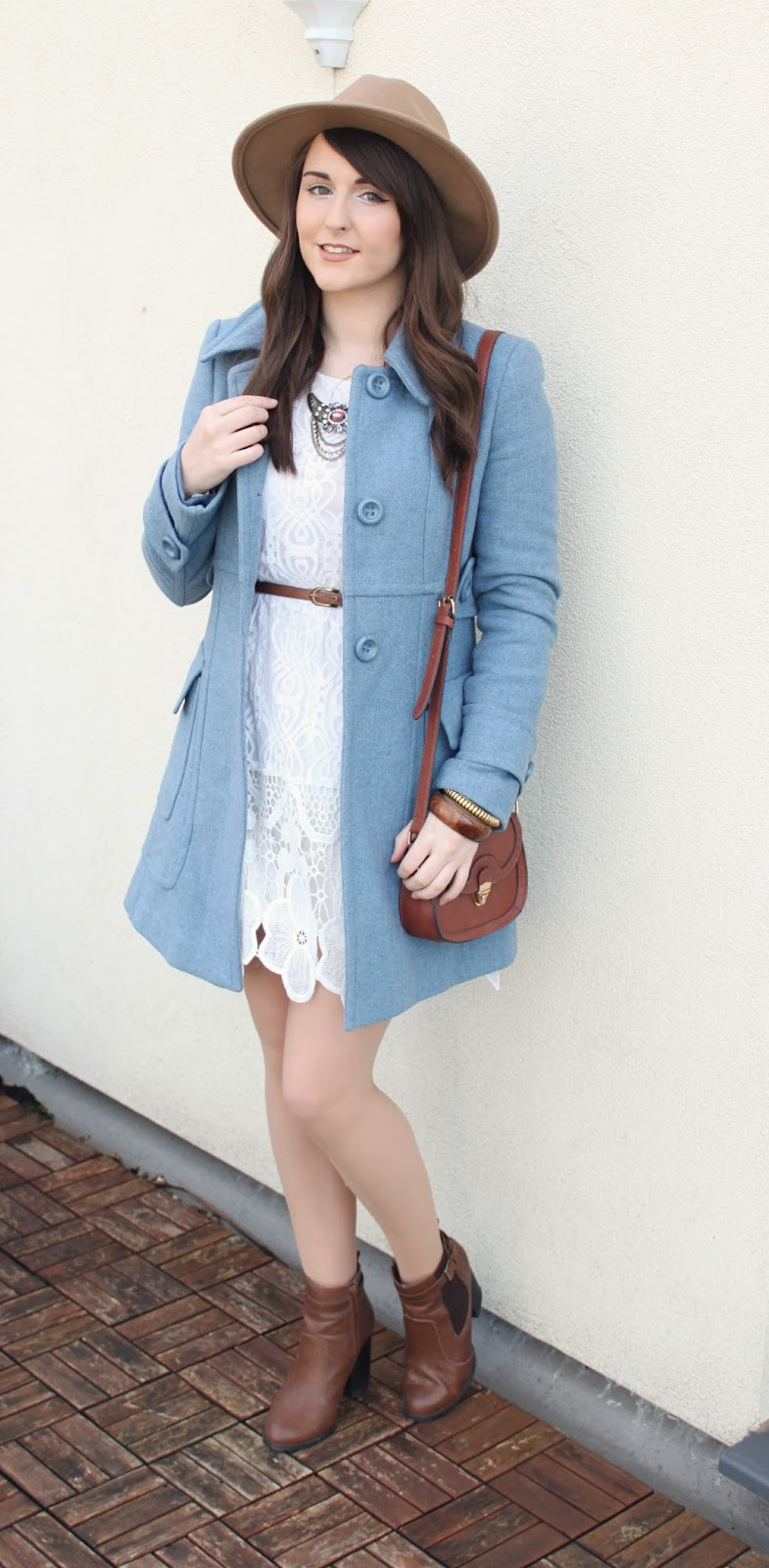 white-lace-bohemian-style-dress-with-pastel-blue-coat