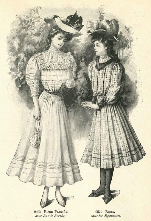 Le blog de callisto le miroir des modes septembre 1906 for Miroir des modes value