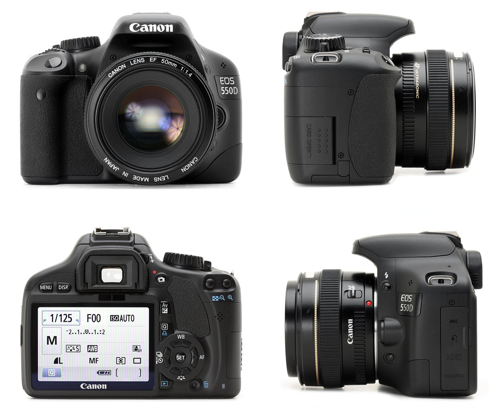 Canon Rebel Eos T2i Manual