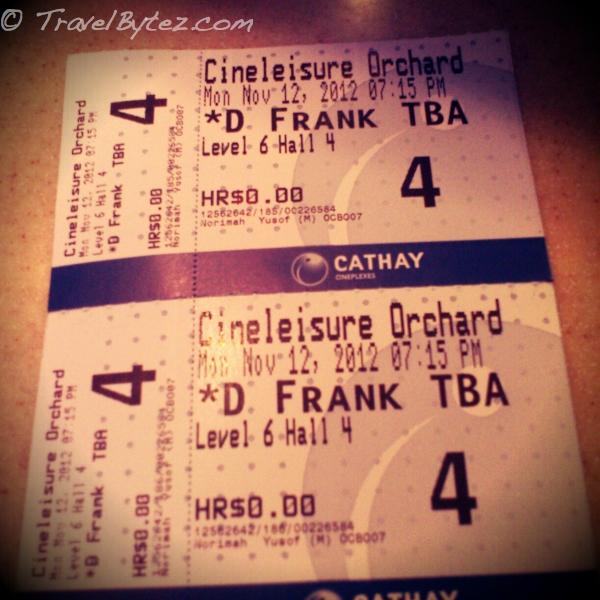 Frankenweenie Premeire Tickets