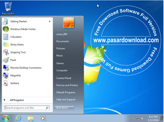 Windows 7 SP1 AIO 18in1 x86 x64 Activated Januari 2014 Free Download
