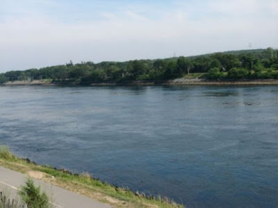 Cape Cod Canal from the Bike Trail
