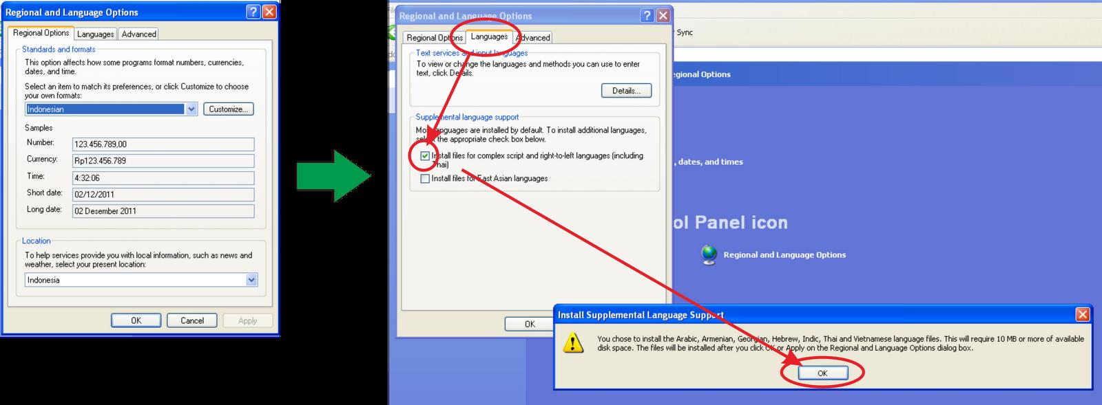 Install Arabic Language Windows Xp Without Cd