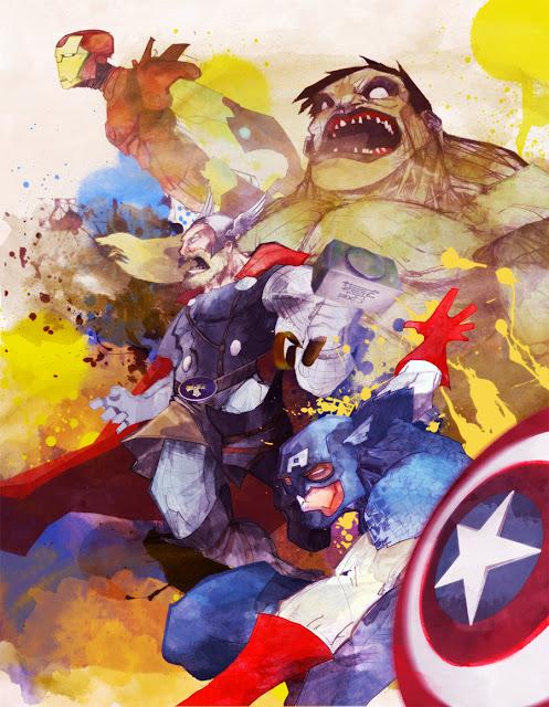 Avengers por dnz85