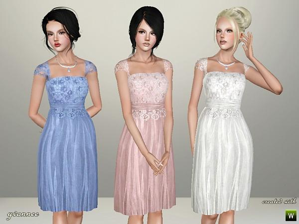 Custom Sims 3 Wedding Dress Bellen