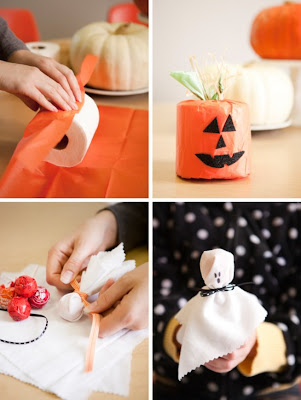 My favorite Halloween Crafts for kids - all in one place. Your kids will love these five, simple ideas!