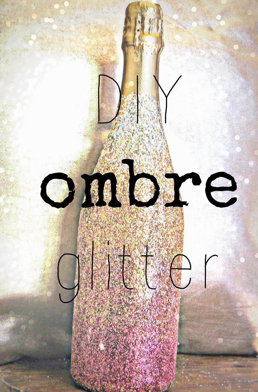 DIY Ombre Glitter