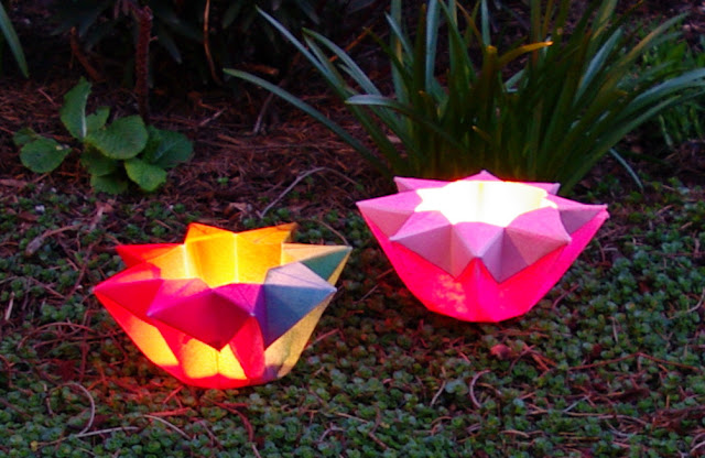 Tutorial paper star lantern
