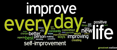 Self Improvement Ways, Work, Creating, Life Positive.