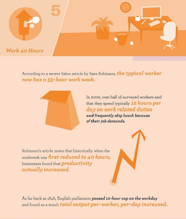 Infographic 6 Simple Ways To Avoid Burnout Part 5